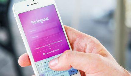 instagram app sign in screen